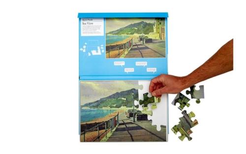 Vista de mar: Novo puzzle com 24 peças