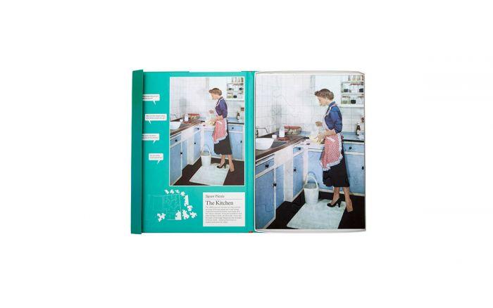 Na cozinha: Novo puzzle com 13 peças de tamanho grande