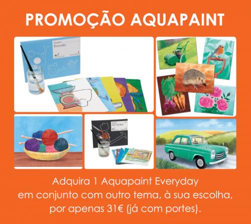 Pintar com água :Escolha outro aquapaint e adquira-o neste conjunto promocional com o everyday