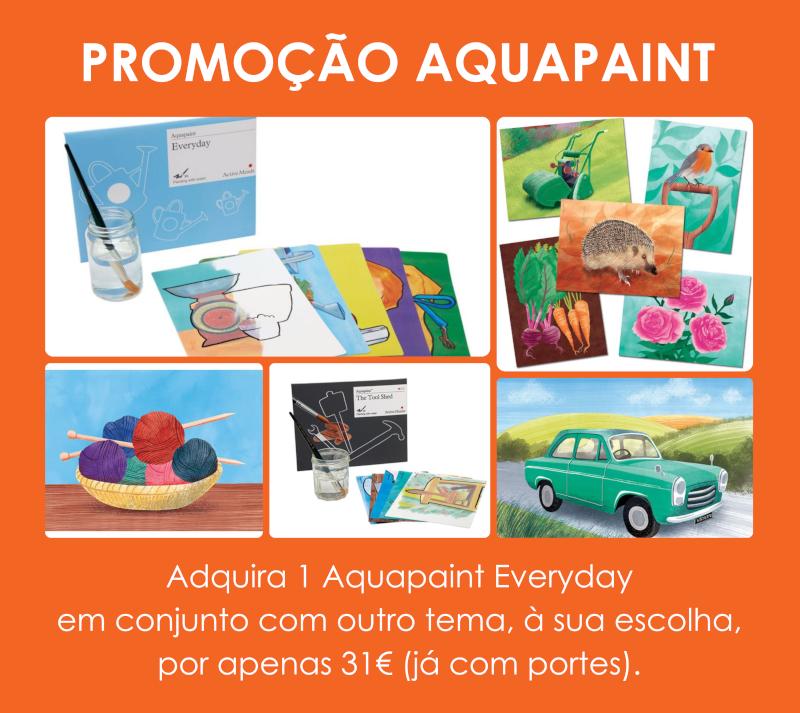 Promoção Aquapaint – Everyday