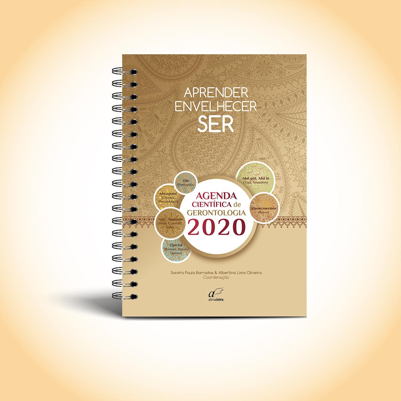 """Já está disponível a nova edição da Agenda de Gerontologia """"Aprender, Envelhecer… SER""""!"""