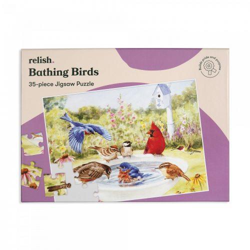 Banho dos Pássaros -Puzzle que nos remete para a natureza!