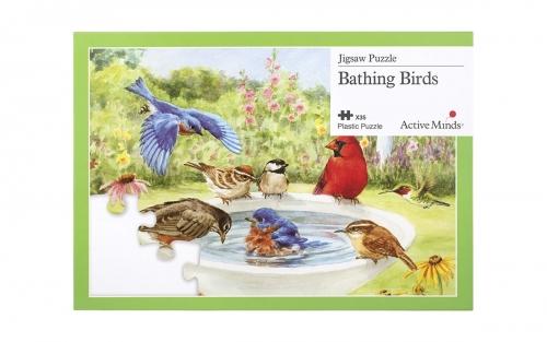 Complete este puzzle com 13 peças e descubra os diferentes pássaros que estão na imagem!