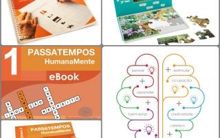 Novo conjunto de estimulação cognitiva, produtos em promoção e o bónus - programa Humanamente!
