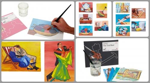 Aquapaints: Pinturas com água ( há quem lhe chame mágias :))