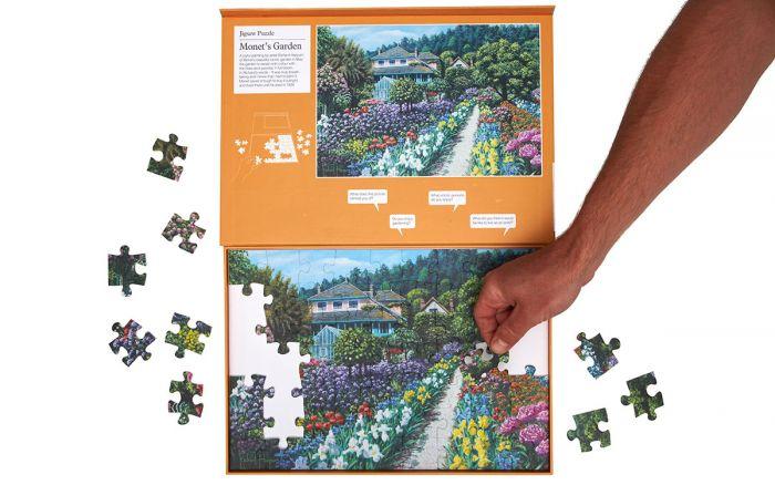 Jardim Monet: Novo puzzle com 63 peças