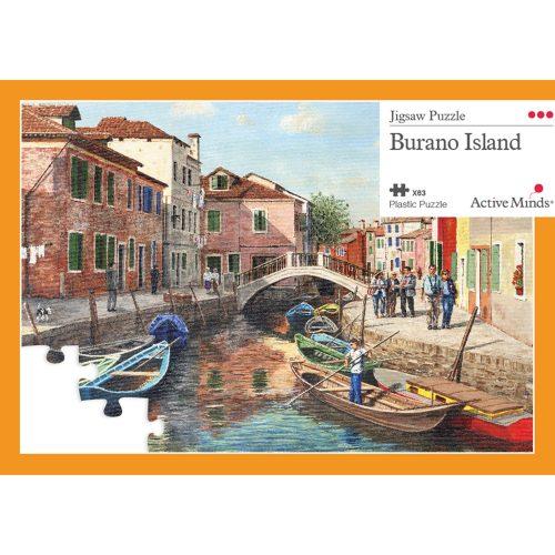 Ilha de Burano, recorde as suas férias!