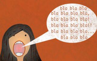 O poder das palavras na demência