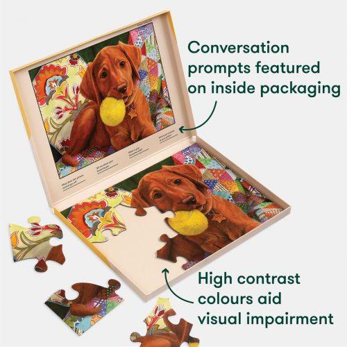Puppy play: O novo puzzle com 13 peças!